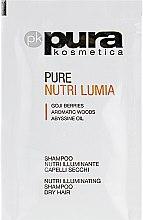 Духи, Парфюмерия, косметика Шампунь для блеска сухих волос - Pura Kosmetica Nutri Lumia Shampoo (пробник)