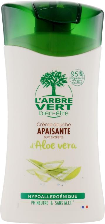 "Крем-гель для душа ""Алоэ Вера"" - L'Arbre Vert Cream Shower Gel"