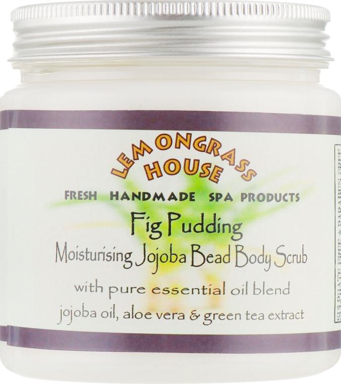 """Скраб для тела с гранулами жожоба """"Инжирный пудинг"""" - Lemongrass House Fig Pudding Moisturising Jojoba Bead Body Scrub"""