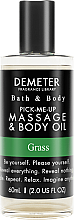Духи, Парфюмерия, косметика Demeter Fragrance Grass - Масло для тела и массажа