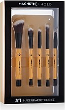 Духи, Парфюмерия, косметика Набор магнитных кистей для макияжа - Bronx Colors Magnetic Urban Brushes Set (brushx8)