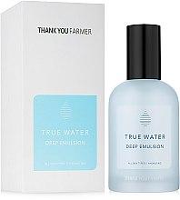 Духи, Парфюмерия, косметика Глубоко увлажняющая эмульсия - Thank You Farmer True Water Emulse