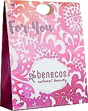 "Духи, Парфюмерия, косметика Набор ""Мелиса"" - Benecos Natural Beauty For You (sh/gel/200ml + b/lotion/150ml + hand/cr/75ml)"