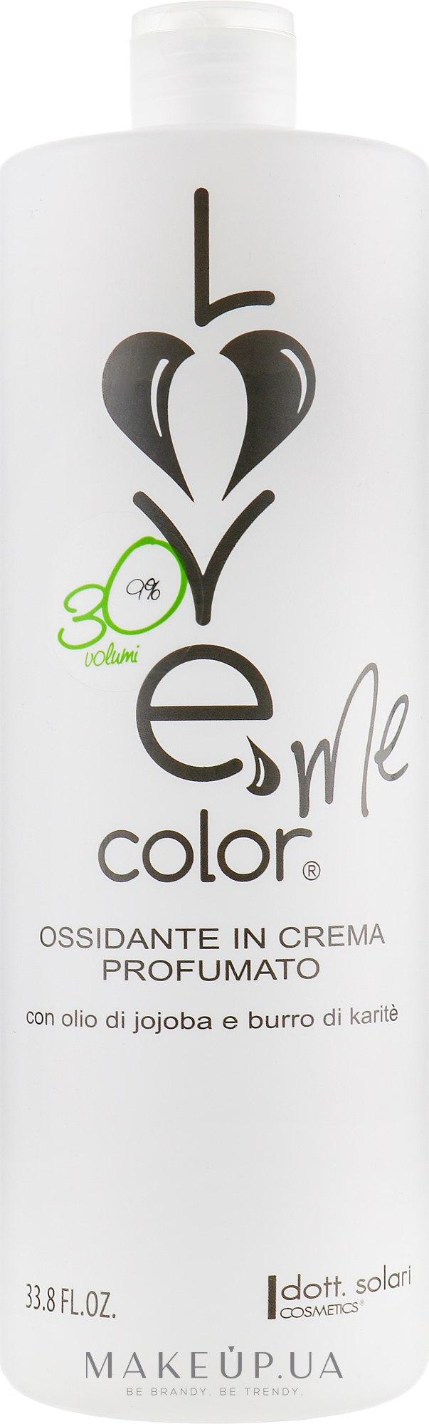 Окислитель 9% - Dott. Solari Love Me Color — фото 1000ml