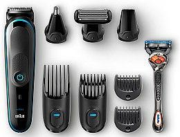 Духи, Парфюмерия, косметика Триммер для стайлинга, черный с синим - Braun MGK5080