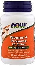 Духи, Парфюмерия, косметика Пробиотики для женщин, 20 млрд живых культур - Now Foods Women's Probiotic 20 Billion Veg Capsules