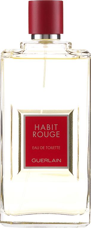 Guerlain Habit Rouge - Туалетная вода — фото N1