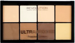 Духи, Парфюмерия, косметика Палетка для контуринга лица - Makeup Revolution Ultra HD Pro Powder Contour