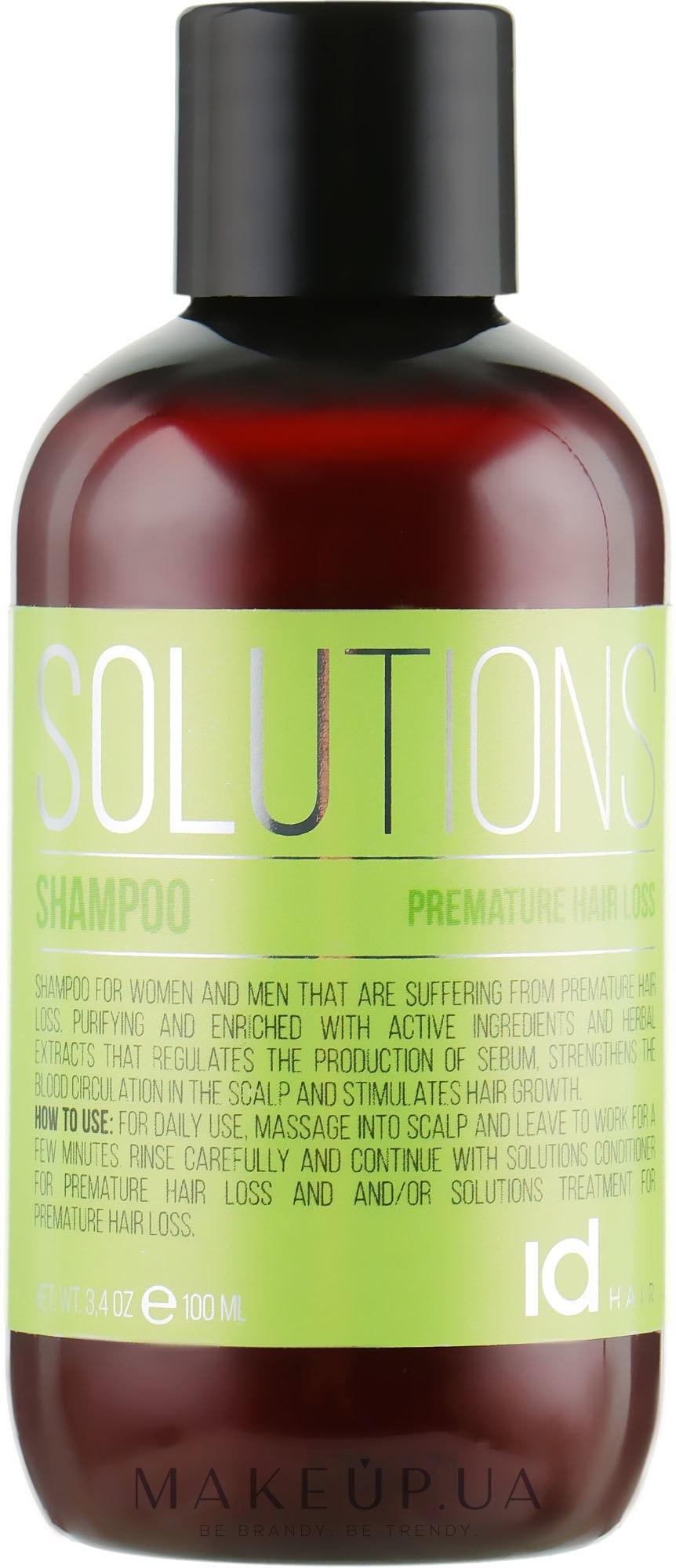Шампунь проти випадіння волосся - idHair Solutions №7-1 — фото 100ml