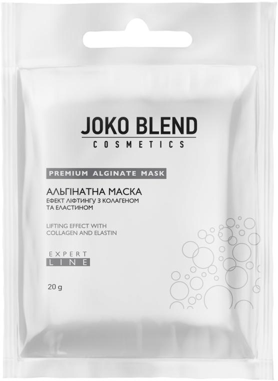 Альгинатная маска эффект лифтинга с коллагеном и эластином - Joko Blend Premium Alginate Mask