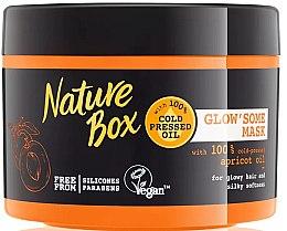 Духи, Парфюмерия, косметика Интенсивная маска для волос - Nature Box Apricot Oil Maska