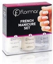 Духи, Парфюмерия, косметика Набор для французского маникюра №227 - Flormar French Manicure Set