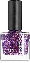 Духи, Парфюмерия, косметика Лак для ногтей с блестками - Nogotok Mix Glitter