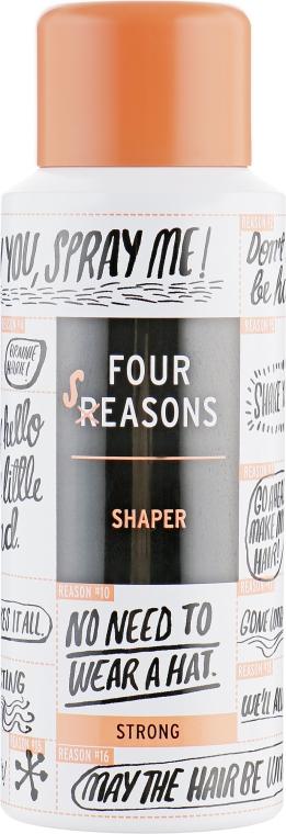 Мини лак для волос сильной фиксации - KC Four Reasons Travel Shaper