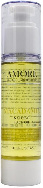 Натуральное масло макадамии для лица - Amore Macadamia Natural Face Oil