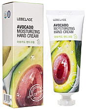 Духи, Парфюмерия, косметика Крем для рук с экстрактом авокадо - Lebelage Avocado Moisturizing Hand Cream