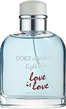 Духи, Парфюмерия, косметика Dolce&Gabbana Light Blue Love is Love Pour Homme - Туалетная вода