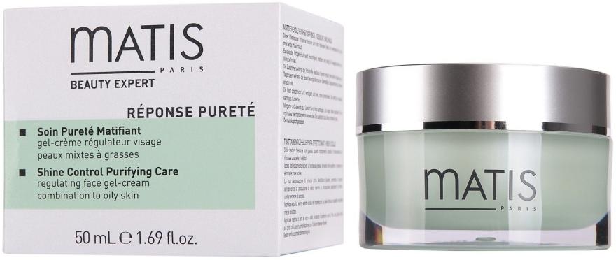 Гель-крем для регулирования жирности кожи - Matis Reponse Purete Shine Control Purifying