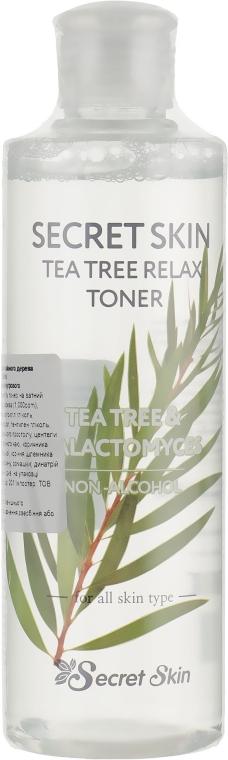 Тонер для лица Secret Skin - Tea Tree Relax Toner