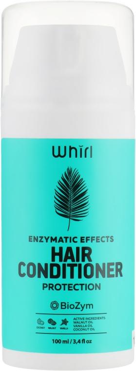 Защитный кондиционер для волос с маслами кокоса, грецкого ореха и ванили - Whirl Enzymatic Effects Hair Conditioner
