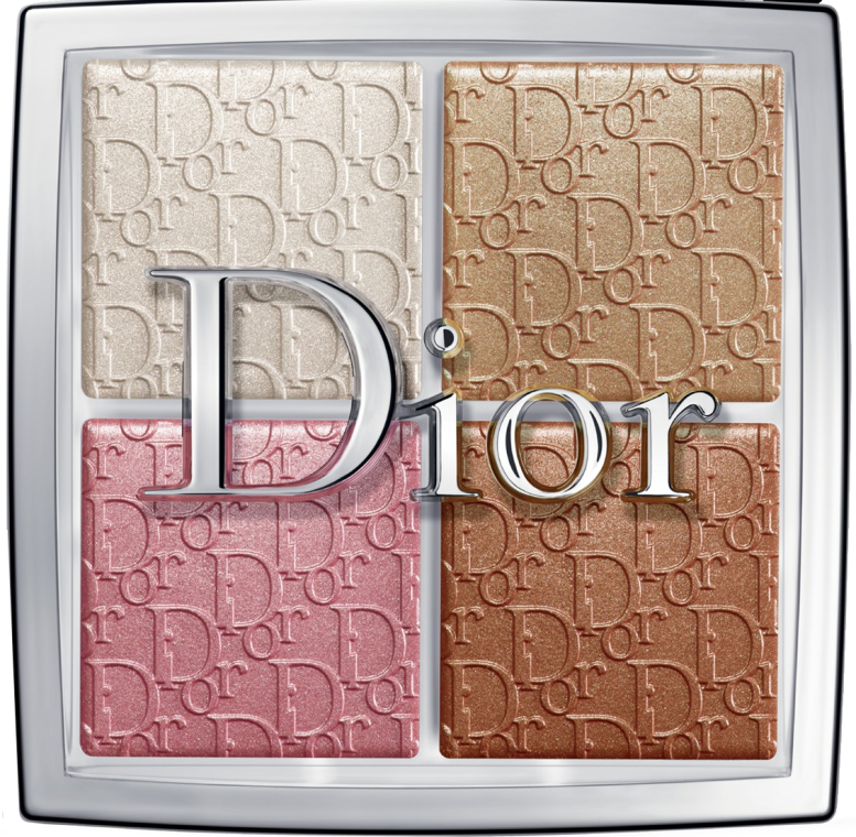 Палетка хайлайтеров - Dior Backstage Glow Face Palette Highlight&Blush