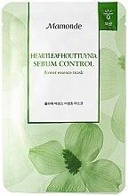 Духи, Парфюмерия, косметика Балансирующая маска с эссенцией - Mamonde Flower Lab Essence Mask Heartleaf Houttuynia