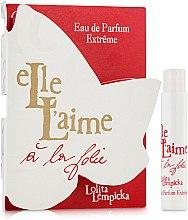 Духи, Парфюмерия, косметика Lolita Lempicka Elle L'aime A La Folie - Парфюмированная вода (пробник)