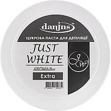 """Духи, Парфюмерия, косметика Парфюмированная сахарная паста для депиляции """"Белая"""", экстра - Danins Just White Sugar Paste Extra"""