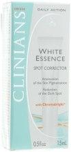 Духи, Парфюмерия, косметика Крем-корректор для лица отбеливающий против пигментных пятен - Clinians White Essence Cream-Concealer