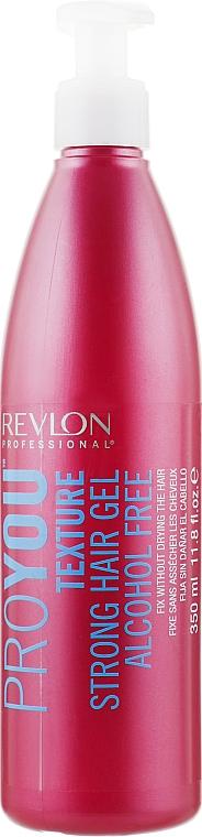 Гель сильной фиксации без спирта - Revlon Professional Pro You Texture Strong Hair Gel Alcohol Free