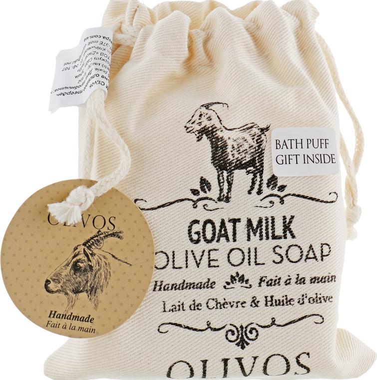 """Натуральное оливковое мыло """"Козье молоко"""" - Olivos Goat Milk"""