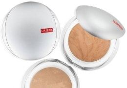 Пудра для лица компактная запеченная - Pupa Luminys Silky Baked Face Powder — фото N3