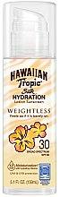 Духи, Парфюмерия, косметика Солнцезащитный крем SPF 30 - Hawaiian Tropic Silk Hydration Weightless Sun Care Sunscreen Lotion