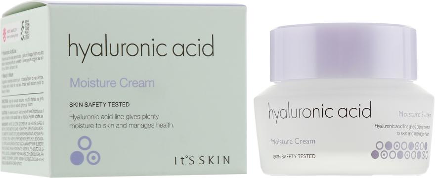 Крем для лица с гиалуроновой кислотой - It's Skin Hyaluronic Acid Moisture Cream