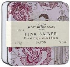 """Духи, Парфюмерия, косметика Мыло """"Розовая амбра"""" - Scottish Fine Soaps Soap In A Tin"""