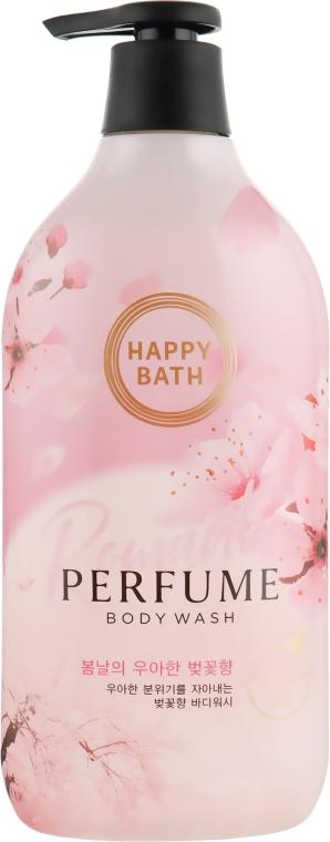 Парфюмированный гель для душа - Happy Bath Romantic Cherry Blossom
