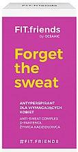 Духи, Парфюмерия, косметика Антиперспирант - AA Cosmetics Fit.Friends Forget The Sweat Deo Roll-On