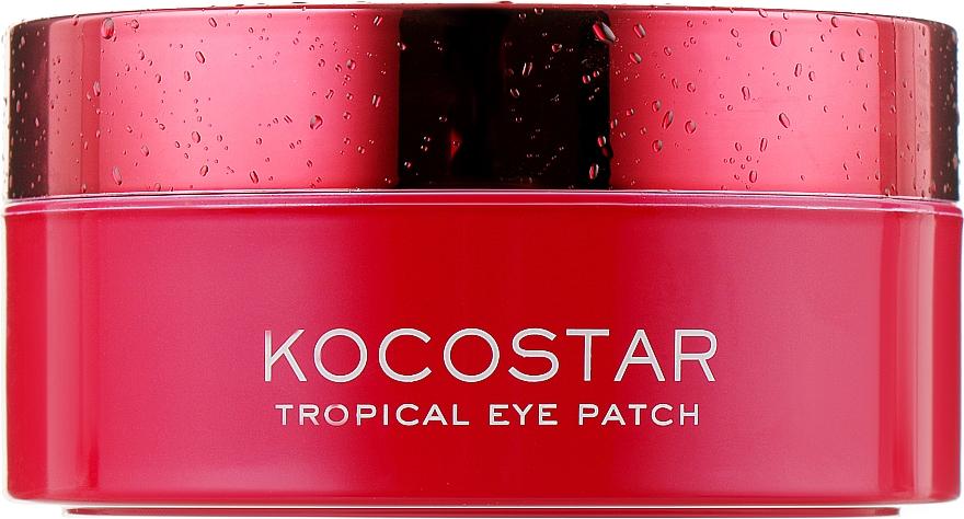 """Гидрогелевые патчи для глаз """"Тропические фрукты, Питахайа"""" - Kocostar Tropical Eye Patch Pitaya"""