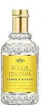 Духи, Парфюмерия, косметика Maurer & Wirtz 4711 Aqua Colognia Lemon & Ginger - Одеколон (тестер)