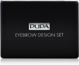 Парфумерія, косметика Набір - Pupa Design Eyebrow