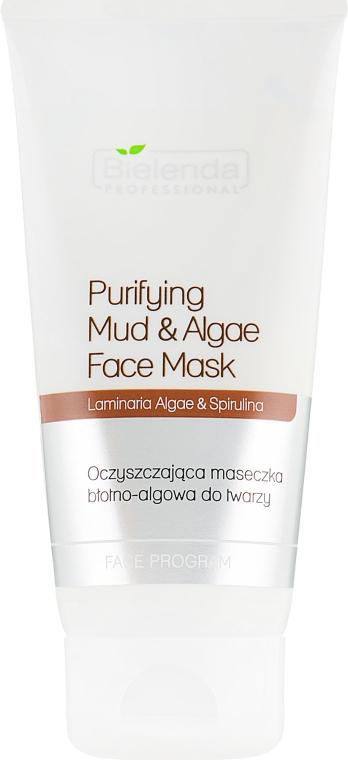 Очищающая маска для лица с глиной и водорослями - Bielenda Professional Purifying Mud and Algae Face Mask