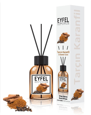 "Аромадиффузор ""Корица и гвоздика"" - Eyfel Perfume Reed Diffuser Cinnamon Clove"