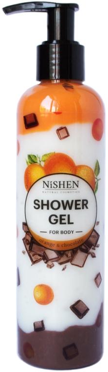 "Гель для душа ""Апельсин и Шоколад"" - Nishen Shower Gel"