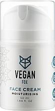 Духи, Парфюмерия, косметика Крем для лица увлажняющий - Vegan Fox Moisturizing Facial Cream