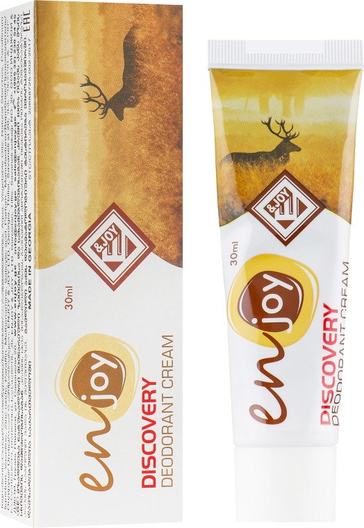Эко-крем-дезодорант - Enjoy & Joy Discovery Deodorant Cream (туба)