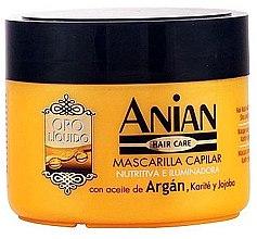 Духи, Парфюмерия, косметика Аргановая маска для волос - Anian Liquid Gold Hair Argan Mask