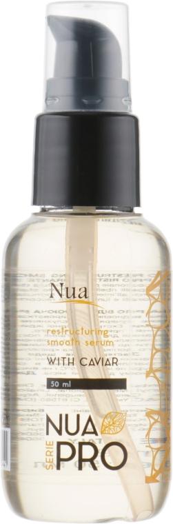 Восстанавливающая разглаживающая сыворотка с икрой - Nua Pro Smooth with Caviar Serum