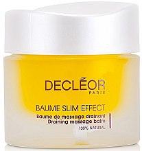 Духи, Парфюмерия, косметика Бальзам с дренирующим эффектом для коррекции формы тела - Decleor Baume Slim Effect