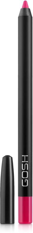 Карандаш для губ водостойкий - Gosh Copenhagen Velvet Touch Waterproof Lipliner