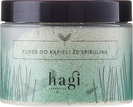 Духи, Парфюмерия, косметика Пудра для ванны с спирулиной - Hagi Bath Puder